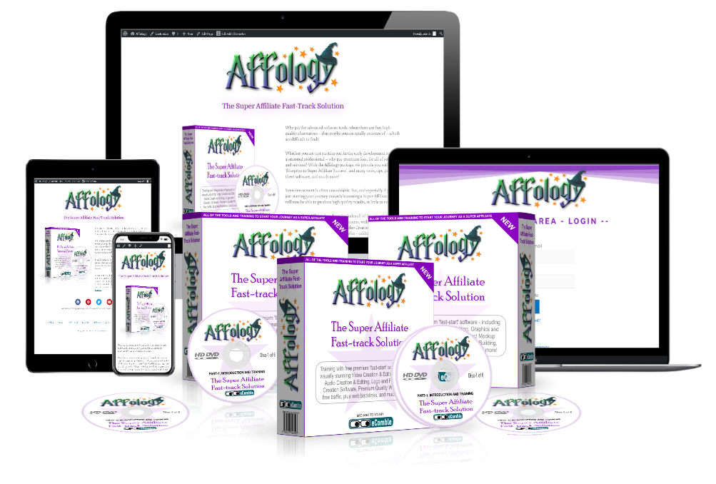 Affology - Affiliates eBooks, Training, and Software